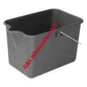 Trend Bucket With Lip 9 Litre Great For Service Station Forecourts