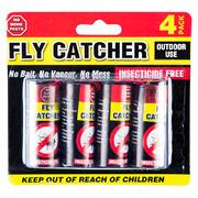 Garden Greens 4pk Outdoor Fly Catcher