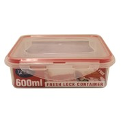 York St Lock IT Fresh Food Container Square 600ml
