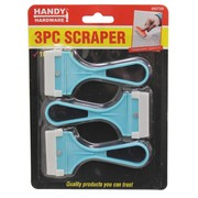 Handy Hardware 3pc Scraper 10cm x 5cm
