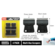 Handy Hardware 4pc Multi Use Mini Scrapers