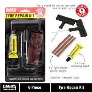 SAS 6pce Puncture Repair Kit Tubeless