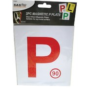2pk Magnetic P Plate (Red) NSW