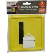 2pk All States L Plate Clip On
