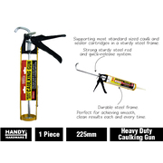 Handy Hardware Caulking Gun Heavy Duty 225mm