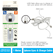 Charge Cable & iPhone Sync 1m