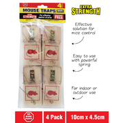 No More Pests 4pc Mouse Trap