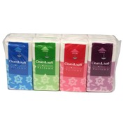 8pk Pocket Tissues 3ply 10 Tissues Per Pack