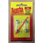Austa Festoon 12v 6w DC (S8-5) 10.5 x 38mm 2 Per Card 10pk