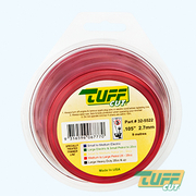Tuff Cut Trimmer Line 2.7mm x 9m Red