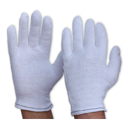 Cotton Gloves Poly/Cotton Mens