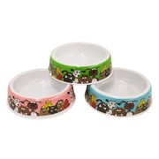 Pet Basic Melamine Dog Bowl 18cm x 5.5cm