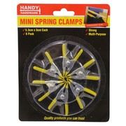 Handy Hardware 6pc Mini Spring Clamp