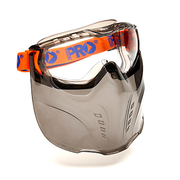 Pro Choice Vadar Clear Googles & Visor Combo