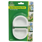 2pc Bird Feeding Bowl