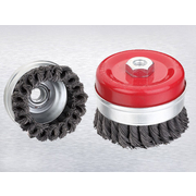 Cup Brush 100mm x M14 Red