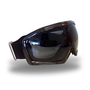 Cyclone Smoked Safety Goggle with Spherical Lens
