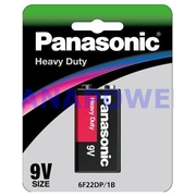 Panasonic 9v 1Pk Heavy Duty Battery