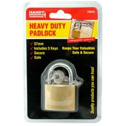 Handy Hardware 38mm Heavy Duty Padlock