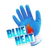 Blue Heat Gloves Large, Heat Resistant Up To 150 Degrees Celsius