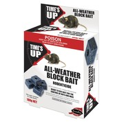 9pk Times Up All Weather Rat & Mice Bait Block