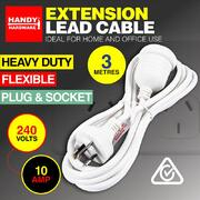 10amp Extention Lead 3m