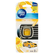 Ambi Pur Car Mini Clip Car Air Freshener Light Citrus 2ml