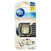 Ambi Pur Car Mini Clip Car Air Freshener Vanilla Bliss 2ml