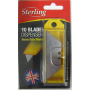 Sterling Heavy Duty Trimming Blade 10pk Dispenser