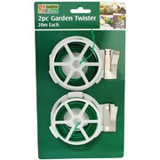 Garden Greens 2pc Garden Twister (2 x 20m Rolls)