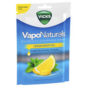 Vicks VapoNaturals Lemon Menthols 19's