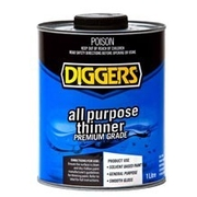 Diggers All Purpose Thinners 1 Litre