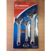 Crescent Adjustable Wrench 3pce Set