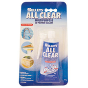 Selleys All Clear Silicone 80g Tube