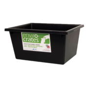 22L Nesting Crate Black, 430 x 323 x 210mm