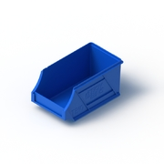 Tech Bin 10 Capacity 1 Litre Blue L177 x W100 x H85mm