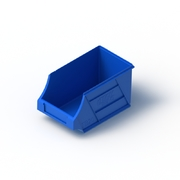 Tech Bin 20 Capacity 2.5 Litre Blue L230 x W134 x H125mm
