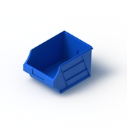 Tech Bin 30 Capacity 6 Litre Blue L280 x W204 x H164mm