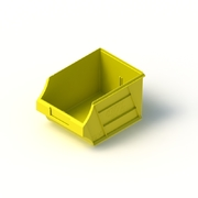 Tech Bin 30 Capacity 6 Litre Yellow L280 x W204 x H164mm