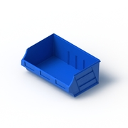 Tech Bin 40 Capacity 12 Litre Blue L280 x W410 x H164mm