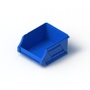 Tech Bin 5 Capacity 0.5 Litre Blue L118 x W100 x H60mm