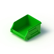 Tech Bin 5 Capacity 0.5 Litre Green L118 x W100 x H60mm