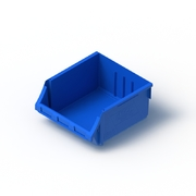Tech Bin 60 Capacity 24 Litre Blue L458 x W414 x H215mm