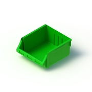 Tech Bin 60 Capacity 24 Litre Green L458 x W414 x H215mm