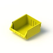 Tech Bin 60 Capacity 24 Litre Yellow L458 x W414 x H215mm