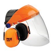 Pro Choice Assembled Browguard + Clear Economy Visor + Adder Earmuff