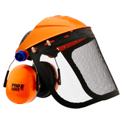 Pro Choice Assembled Browguard + Mesh Visor + Adder Earmuff