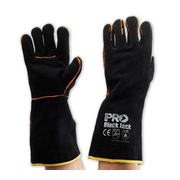 Black Jack - Black & Gold Welding Gloves 40cm