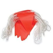 Pro Choice Bunting Orange PVC Flag 30m