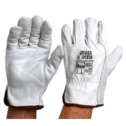 Pro Choice Riggermate Gloves Cowgrain Natural Leather Large